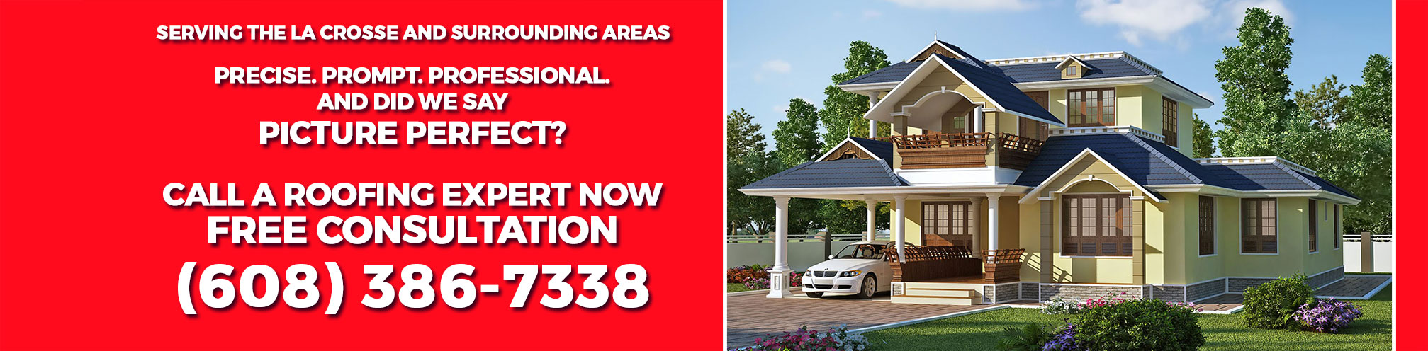 La Crosse Area Roofing Contractor Header